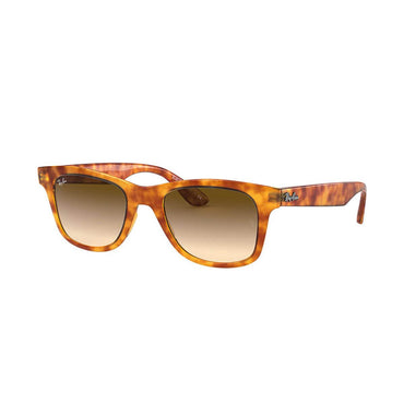 Ray-Ban RB4640 Sunglasses with Yellow Havana Frame - Light Brown Gradient Lens