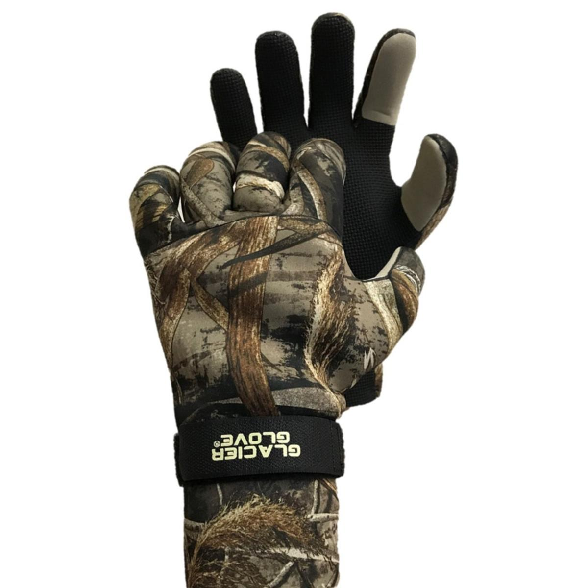 Glacier Glove Bristol Bay Waterproof Gloves - Realtree Max 5 HD