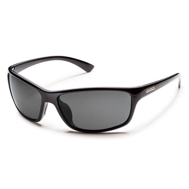 Suncloud Injection Sentry Polarized Gray Sunglasses - Black Frame