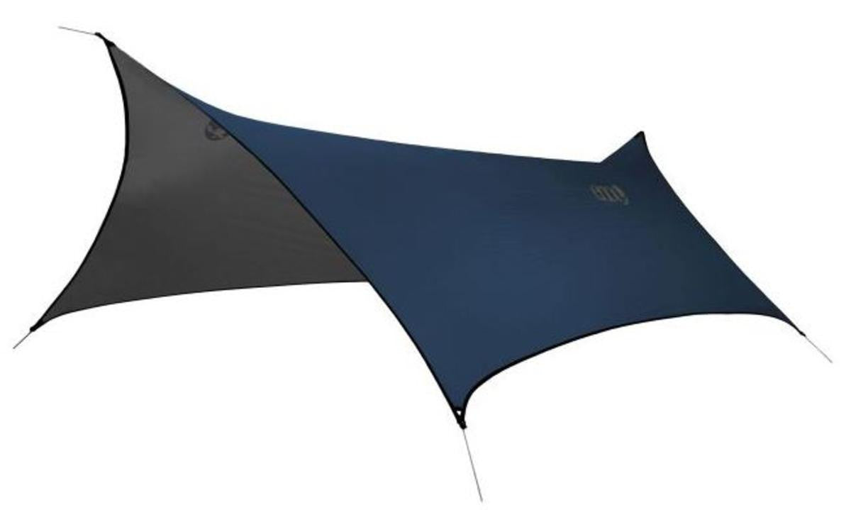 Eagles Nest Outfitters ProFly XL Rain Tarp - Navy/Grey