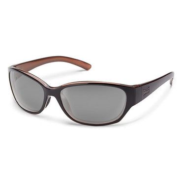 Suncloud Injection Duet Polarized Gray Sunglasses - Black Backpaint Frame