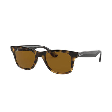 Ray-Ban RB4640 Sunglasses with Shiny Havana Tortoise Frame - Brown Classic B-15 Lens