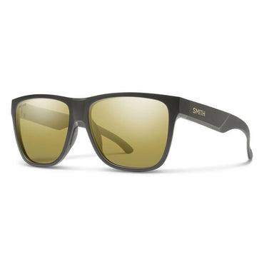 Smith Optics Lowdown XL 2 Sunglasses Carbonic Polarized Gold Mirror - Matte Gravy Frame