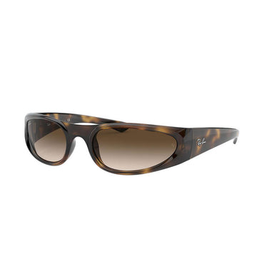 Ray-Ban RB4332 Sunglasses with Tortoise Frame - Brown Gradient Lens