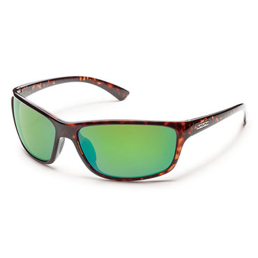Suncloud Injection Sentry Tortoise Polarized Green Mirror Sunglasses