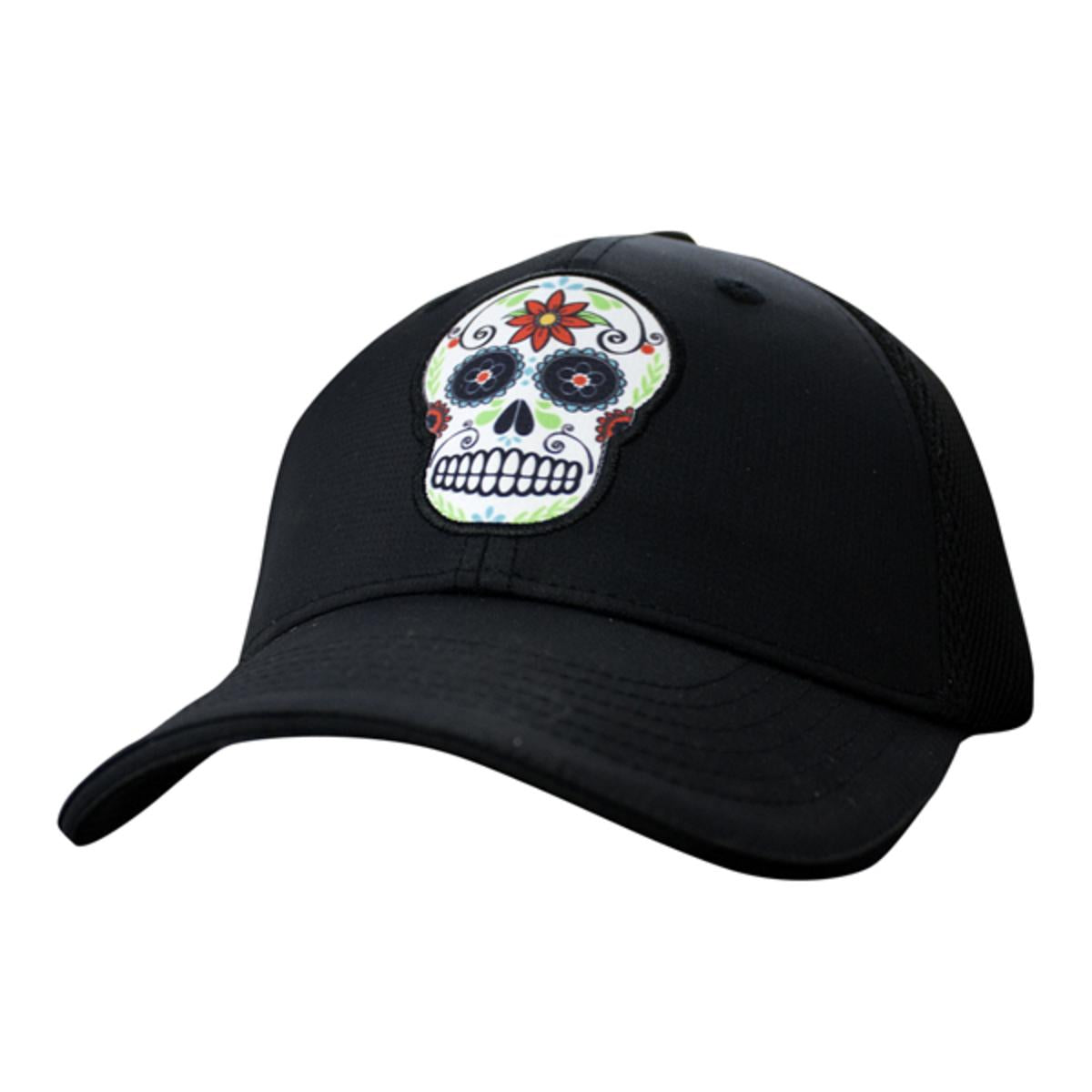 89aea5892b0 Headsweats Trucker Hat - Black Sugar Skulls – Adventure Outfitter
