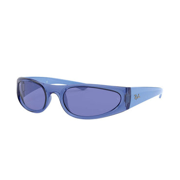 Ray-Ban RB4332 Sunglasses with Transparent Blue Frame - Blue Classic Lens