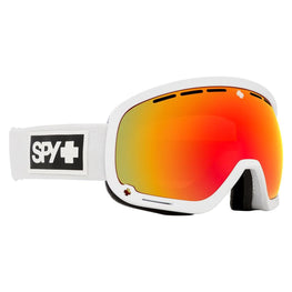Spy Optic Marshall Snow Goggle Matte White - HD Plus Bronze w/Red Spectra Mirror + HD Plus LL Yellow w/Green Spectra Mirror