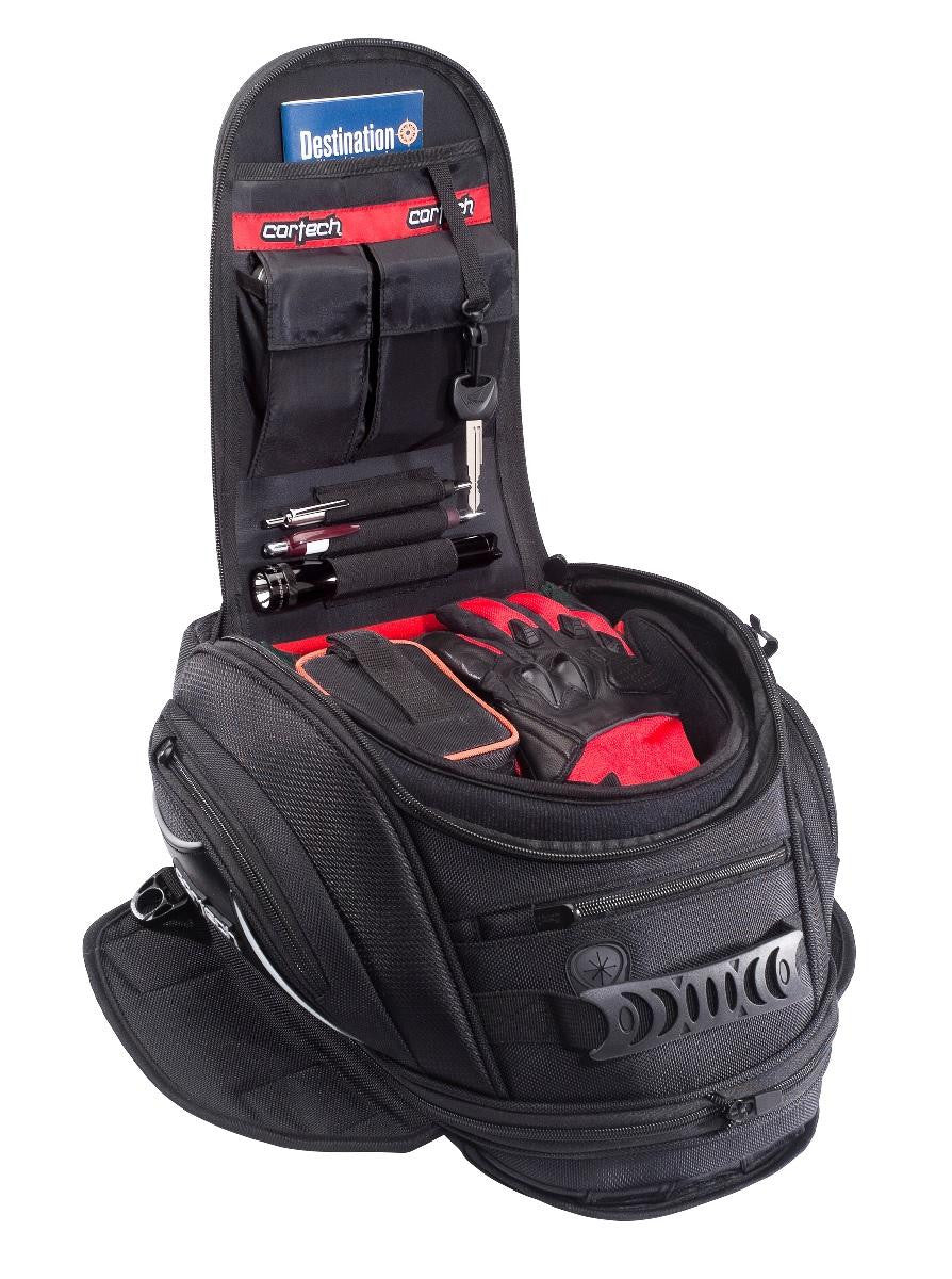 Cortech Super 2.0 10L Magnetic Tank Bag Black