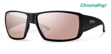 Smith Optics Lifestyle Guides Choice Sunglasses Matte Black Chromapop+ Polarchromic Ignitor