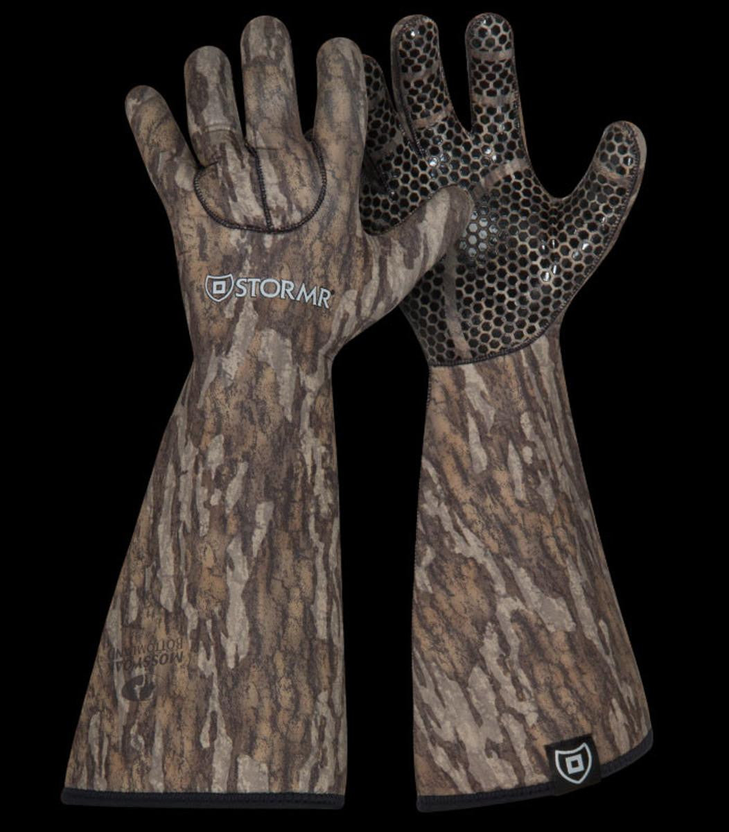 Stormr Stealth Gauntlet Glove - Mossy Oak Bottomland