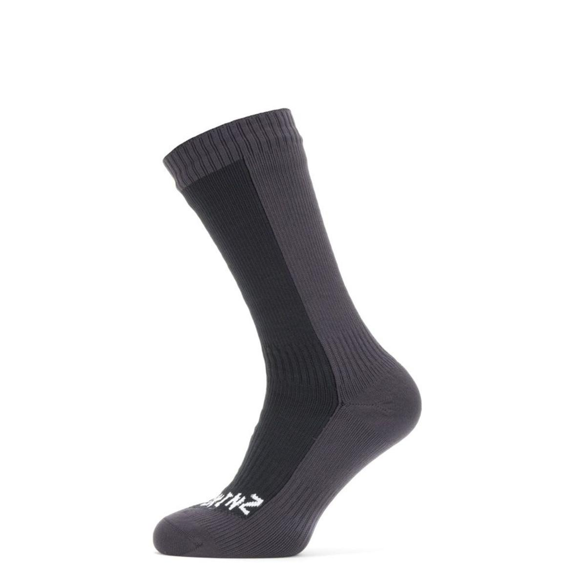 SealSkinz Men's Waterproof Cold Weather Mid Length Socks