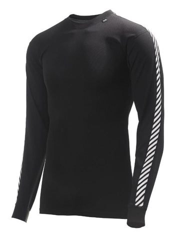 Helly Hansen HH Dry Stripe Crew - Black