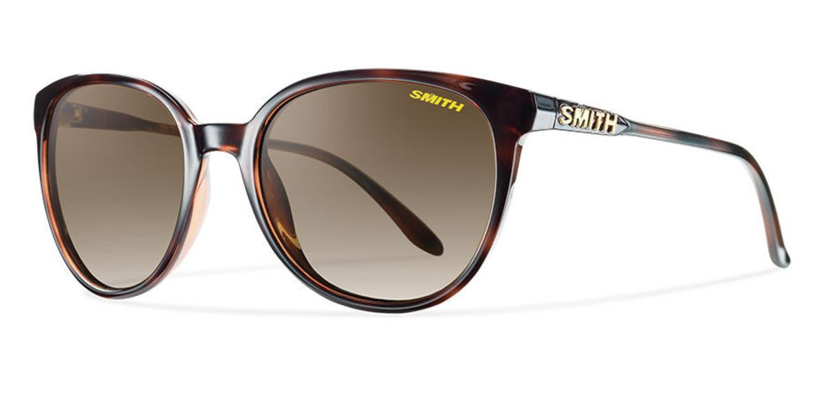 Smith Optics Archive Cheetah Sunglasses Tortoise Carbonic Polarized Brown Gradient