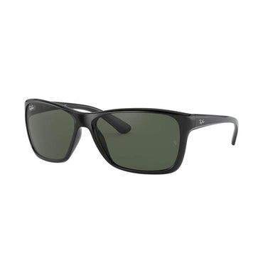 Ray-Ban RB4331 Sunglasses with Black Frame - Green Classic G-15 Lens