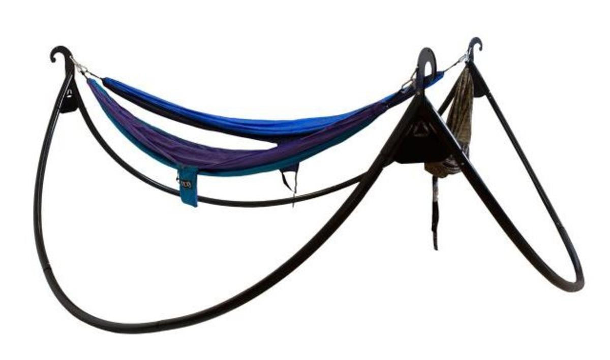 Eagles Nest Outfitters Pod Portable Triple Durable Steel Hammock Stand For 3 Hammocks