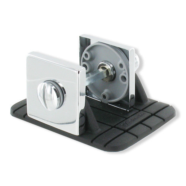 Locking Device - Square Bright Chrome