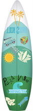 tabla de surf decoración personalizada