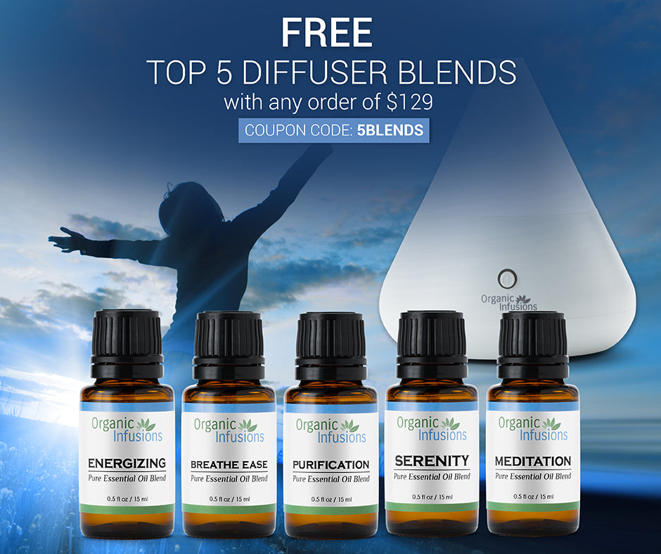 FREE Top 5 Diffuser Blends (5 Gifts)