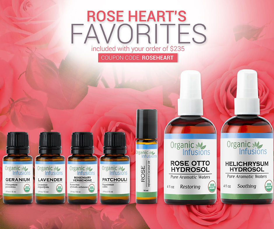 FREE Rose Heart's Favorites (7 Gifts)