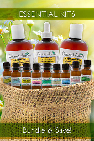 Certified Organic Aromatherapy Essential Oils | Organic Infusions