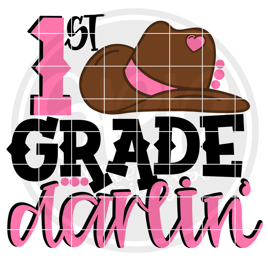 1st Grade Darlin' SVG