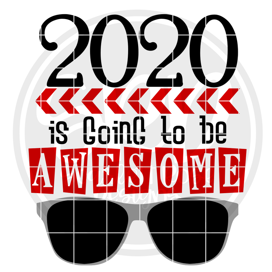 2020 is Going to be Awesome SVG