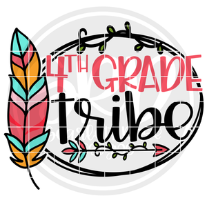 4th Grade Tribe SVG