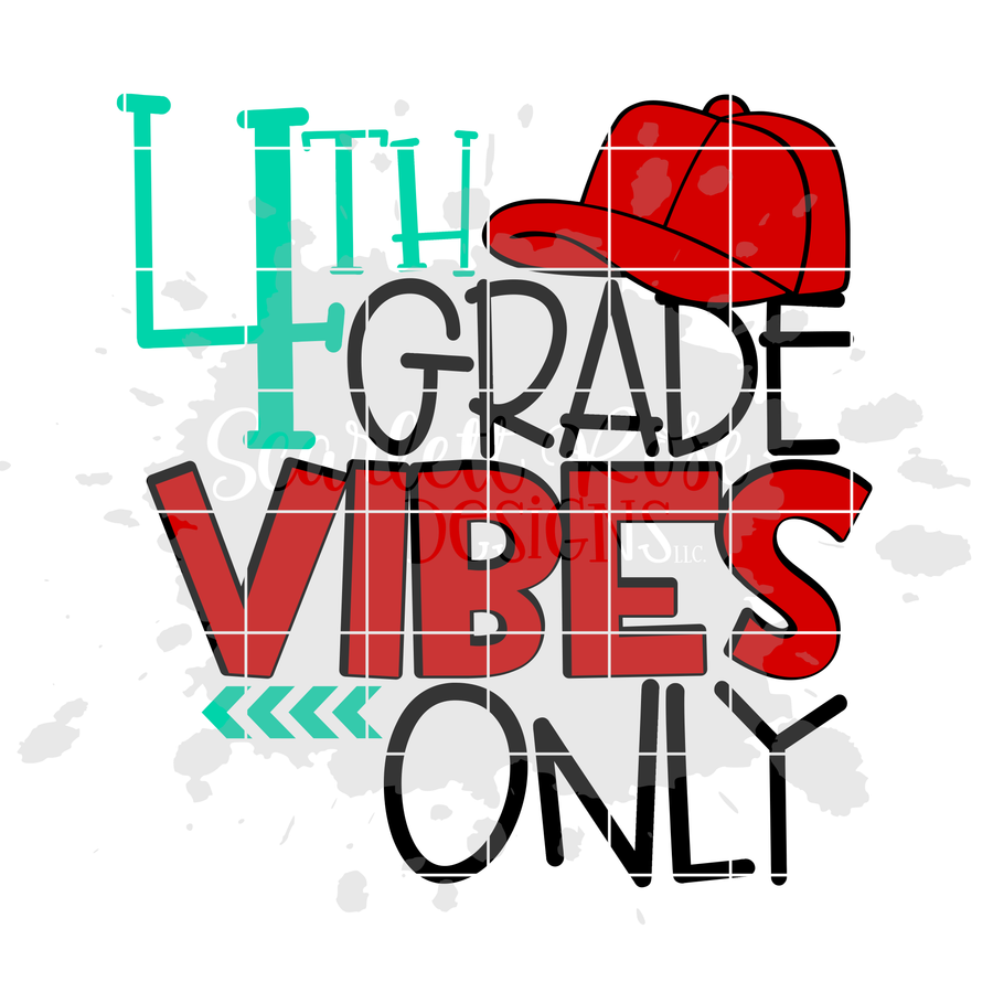 Fourth Grade Vibes Only SVG