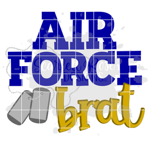 Air Force Brat SVG