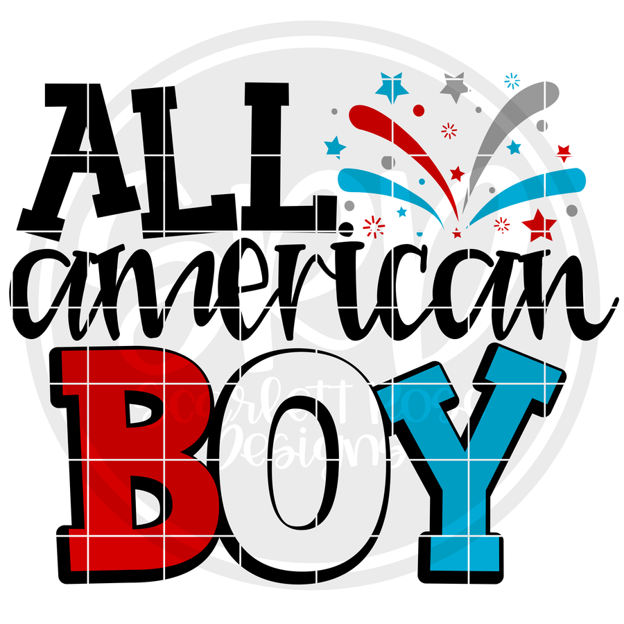 All American Boy SVG - 2019
