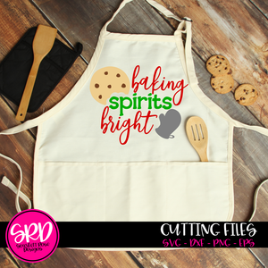 Baking Spirits Bright SVG