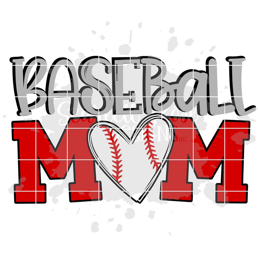 Baseball Mom SVG