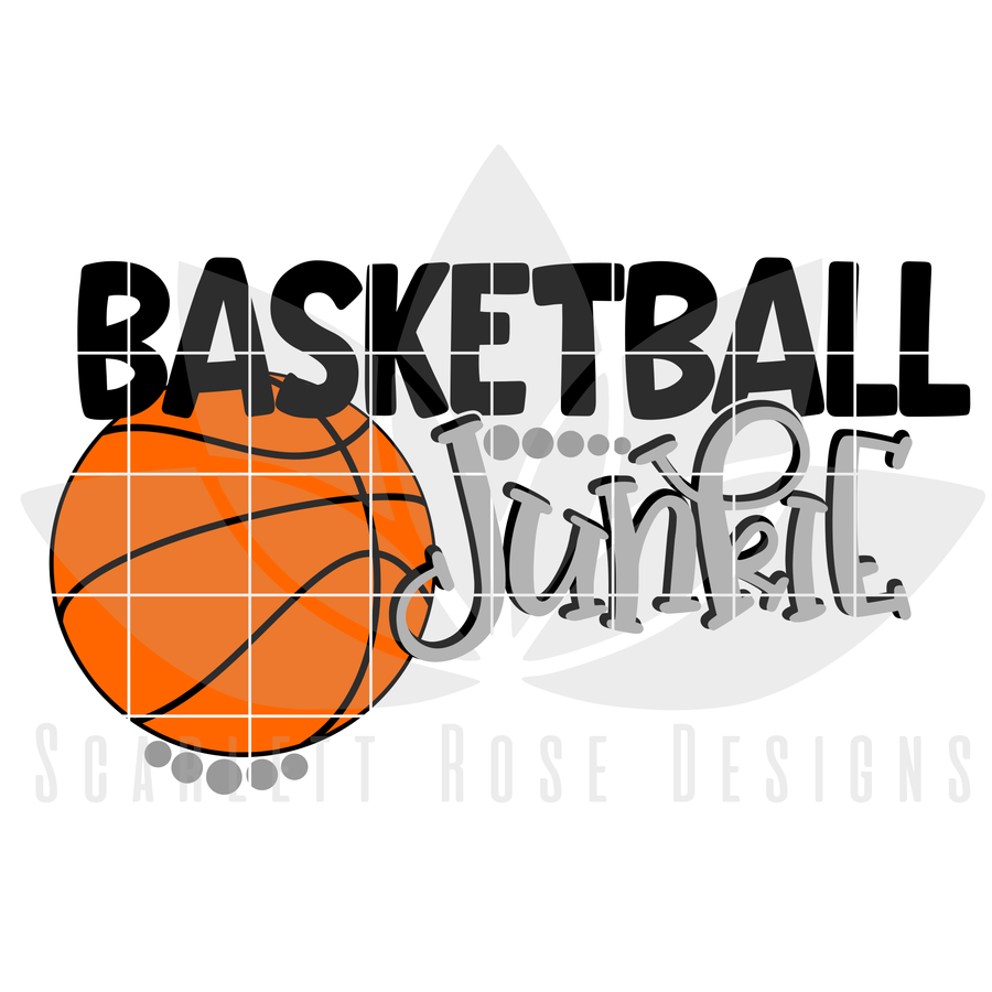 Basketball Junkie SVG