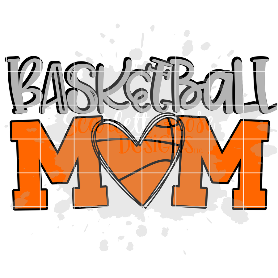 Basketball Mom SVG