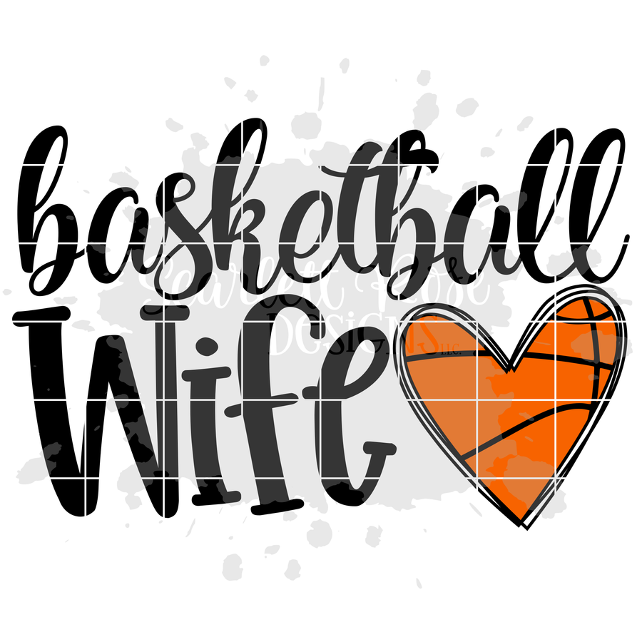 Basketball Wife SVG