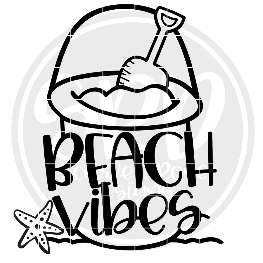 Beach Vibes SVG