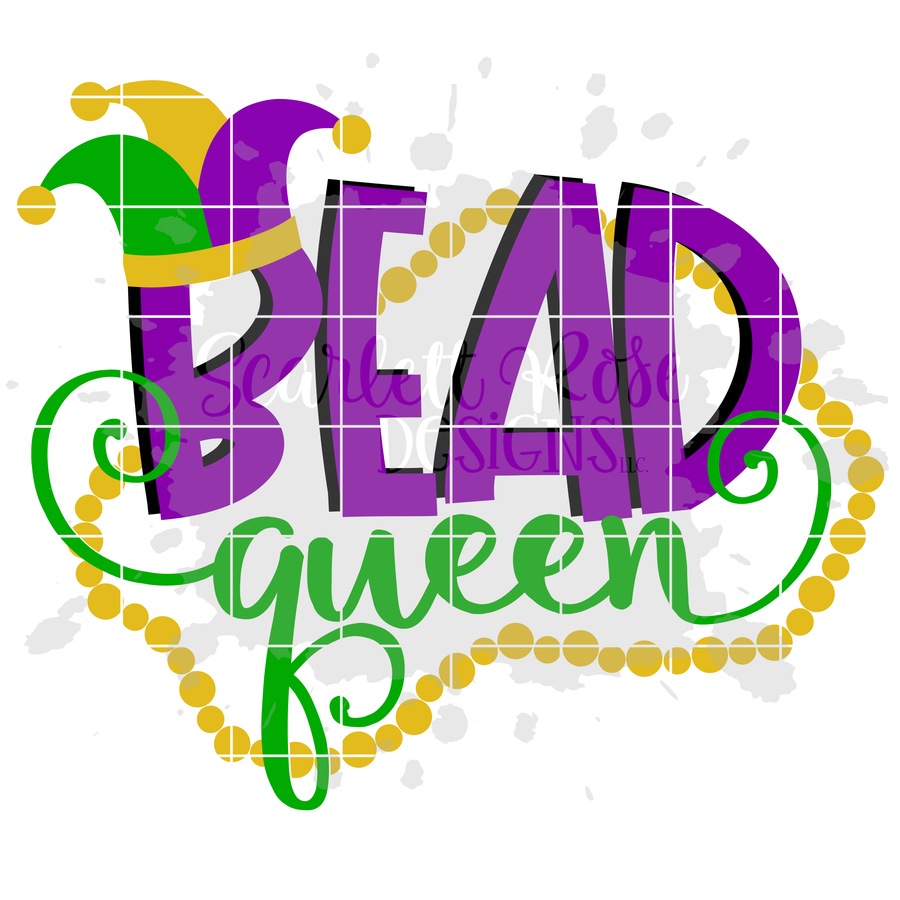 Bead Queen SVG