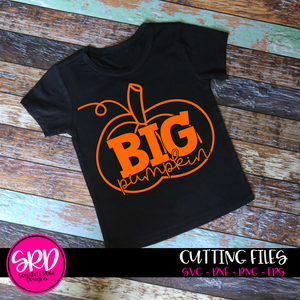 Big Pumpkin - Black SVG