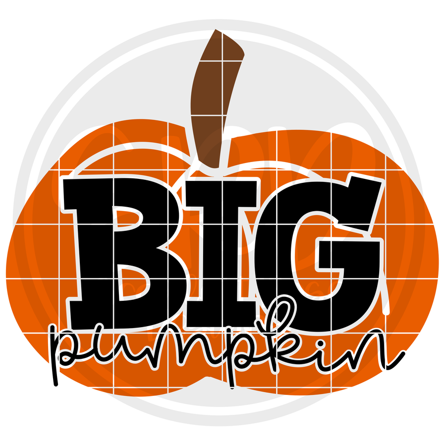 Big Pumpkin SVG
