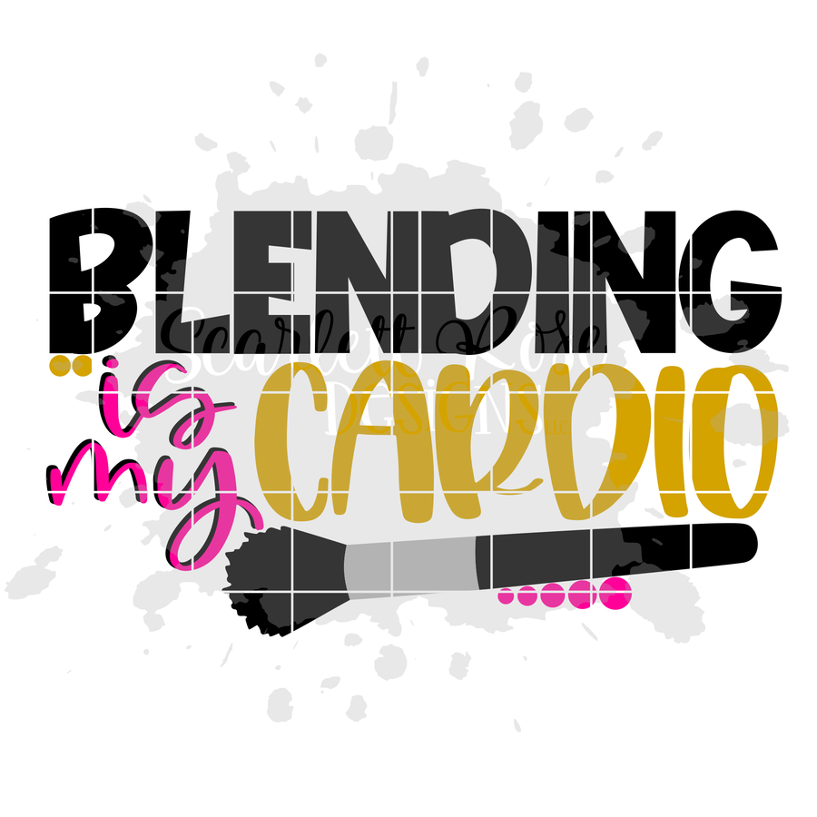 Blending is my Cardio SVG