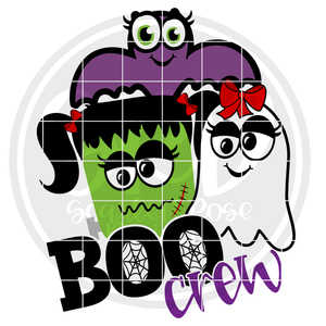 Boo Crew Girls SVG