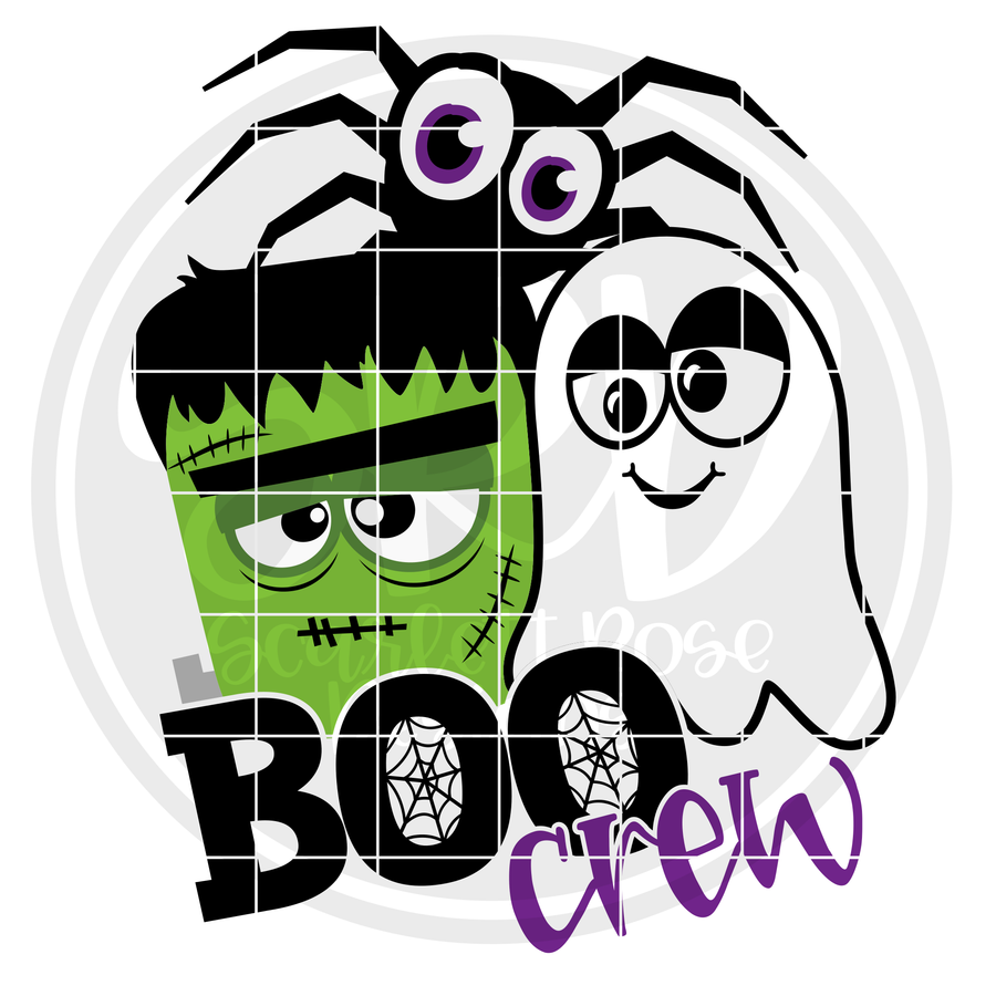 Boo Crew Guys SVG