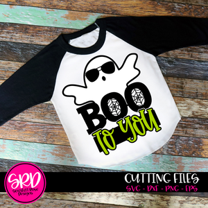 Boo To You - Ghost SVG