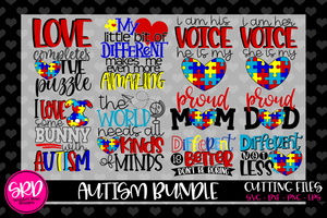 Autism SVG Bundle