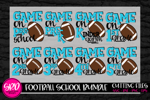 Game On School SVG - Football