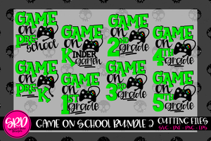 Game On School SVG Bundle - 2