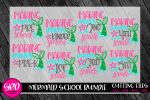 Mermaid School SVG Bundle