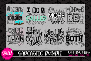 The Sarcastic SVG Bundle
