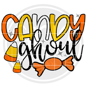 Candy Ghoul SVG